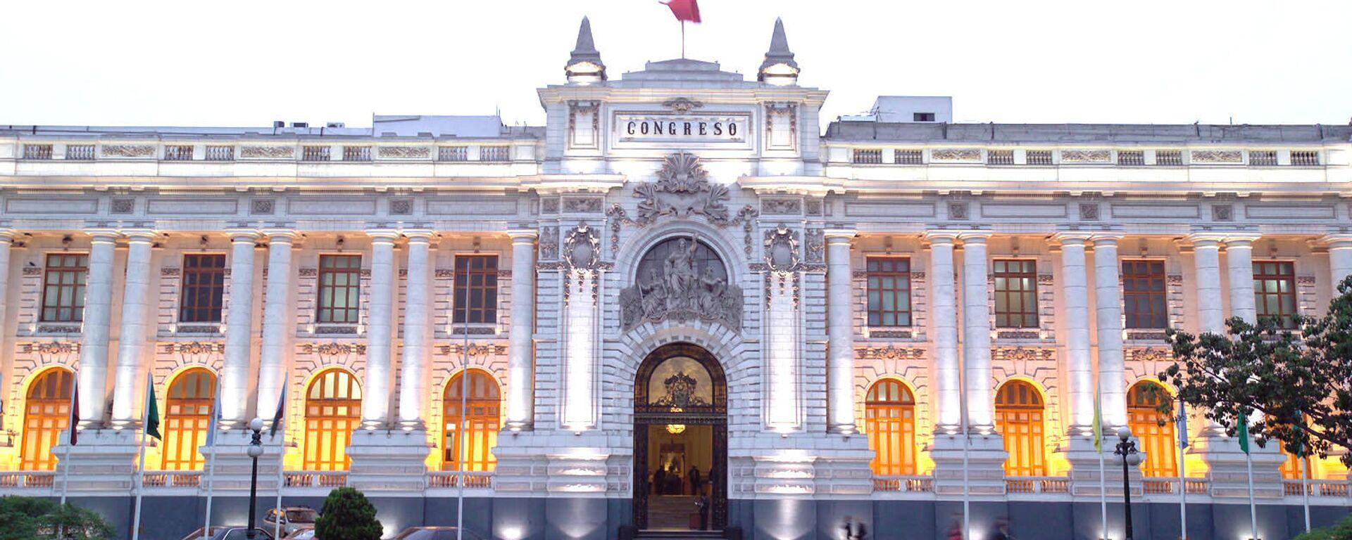 Congreso de la República del Perú - Sputnik Mundo, 1920, 06.08.2021