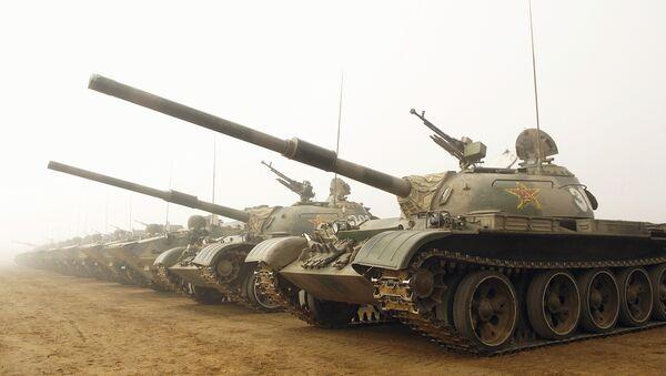 Tanques chinos tipo 59 (archivo) - Sputnik Mundo