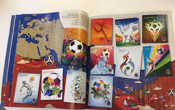 Álbum de figuritas de Rusia 2018 - Sputnik Mundo