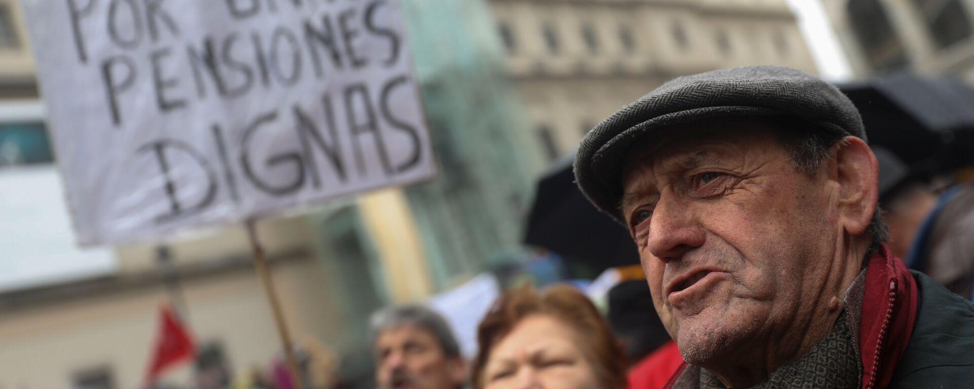 Manifestación de jubilados en España - Sputnik Mundo, 1920, 13.04.2021