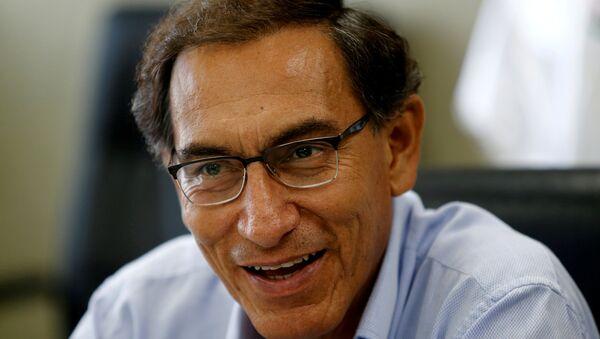 Martín Vizcarra, vicepresidente de Perú (archivo) - Sputnik Mundo