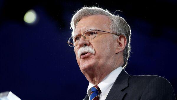 John Bolton, consejero de Seguridad Nacional de EEUU (archivo) - Sputnik Mundo