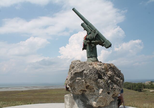 El cañón antiaéreo ruso calibre 76mms