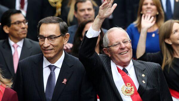 Pedro Pablo Kuczynski, el presidente de Perú - Sputnik Mundo