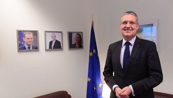 l embajador de la Unión Europea en Rusia, Markus Ederer - Sputnik Mundo