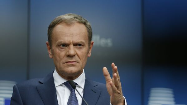 Donald Tusk, el presidente del Consejo Europeo - Sputnik Mundo