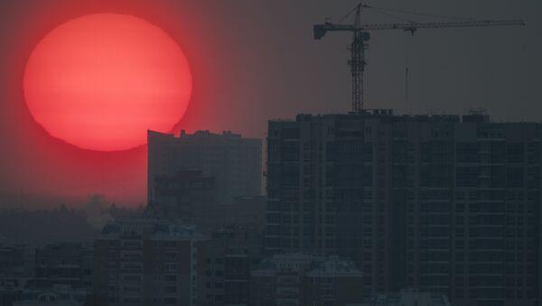 La puesta del Sol en Moscú - Sputnik Mundo