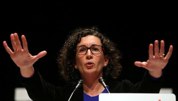 Marta Rovira, secretaria general de la Esquerra Republicana de Catalunya (archivo) - Sputnik Mundo