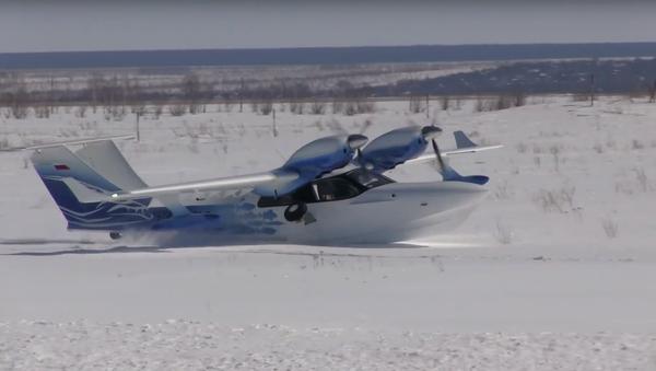 ¿'Anievizaje'? No existe la palabra para lo que hace este avión ruso - Sputnik Mundo