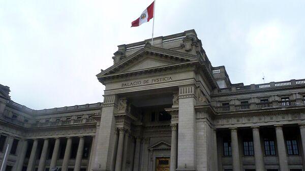 Palacio de Justicia de Perú - Sputnik Mundo