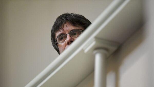 Carles Puigdemont en Finlandia - Sputnik Mundo
