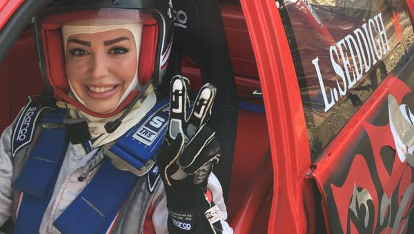 Laleh Sedigh, campeona de Irán de automovilismo - Sputnik Mundo