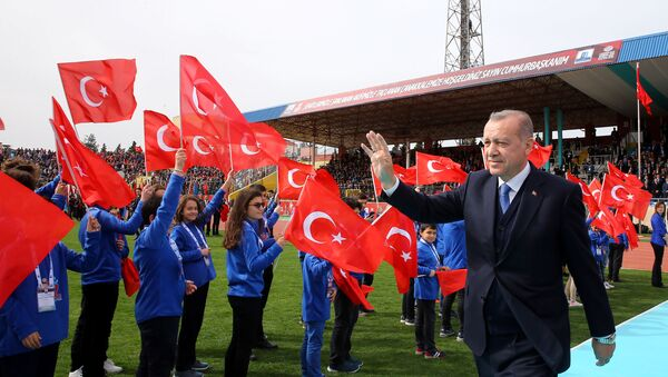 Recep Tayyip Erdogan, presidente de Turquía (archivo) - Sputnik Mundo