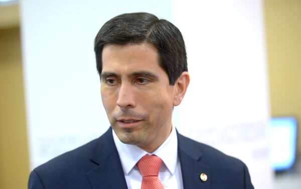 Vicecanciller  Federico González Franco - Sputnik Mundo