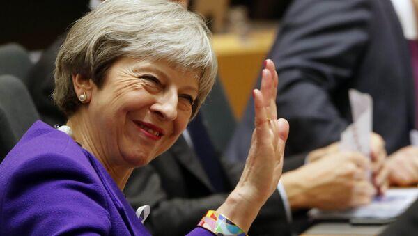 Theresa May, primera ministra de Reino Unido (archivo) - Sputnik Mundo