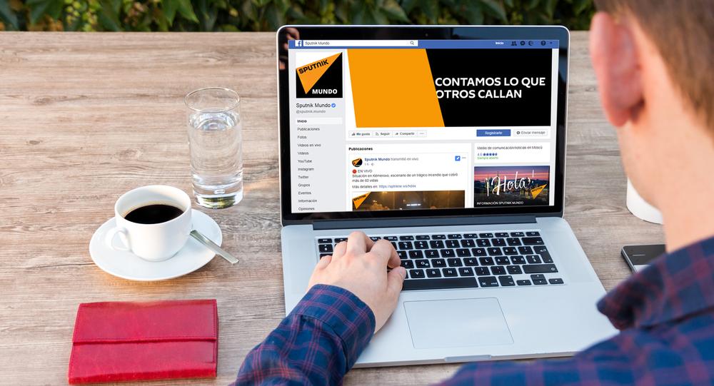 ¡Sigue las publicaciones de Sputnik Mundo en tu muro de Facebook!