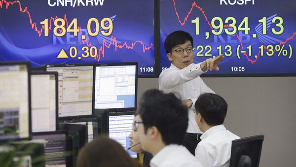 La bolsa de Shanghái - Sputnik Mundo