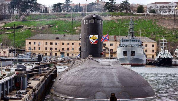El submarino Novorossiysk - Sputnik Mundo