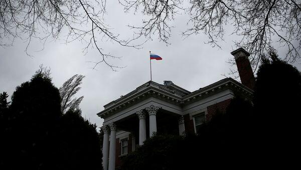 El Consulado General de Rusia en la ciudad estadounidense de Seattle (archivo) - Sputnik Mundo