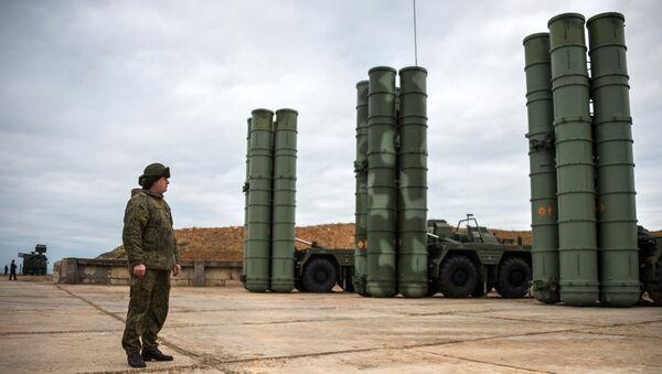 Sistemas antimisiles S-400 Triumf - Sputnik Mundo