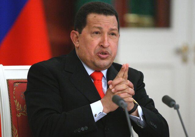 Hugo Chávez, foto de archivo