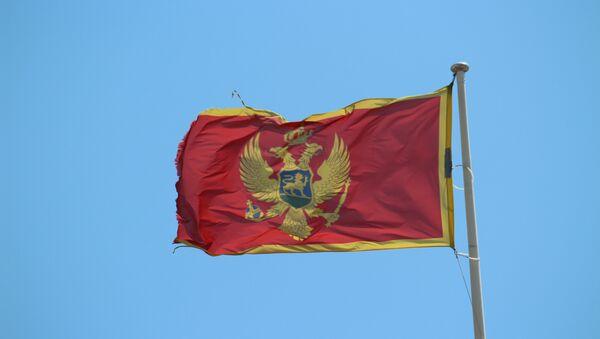 La bandera de Montenegro - Sputnik Mundo
