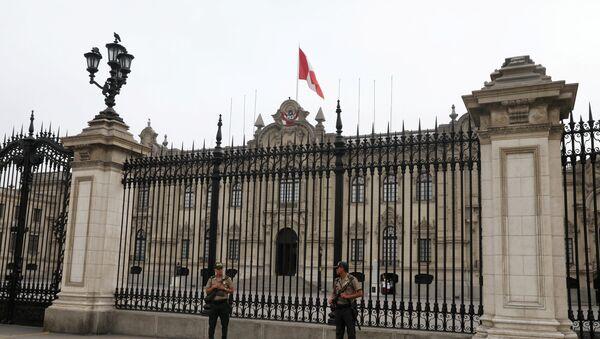 El Gobierno de Perú - Sputnik Mundo