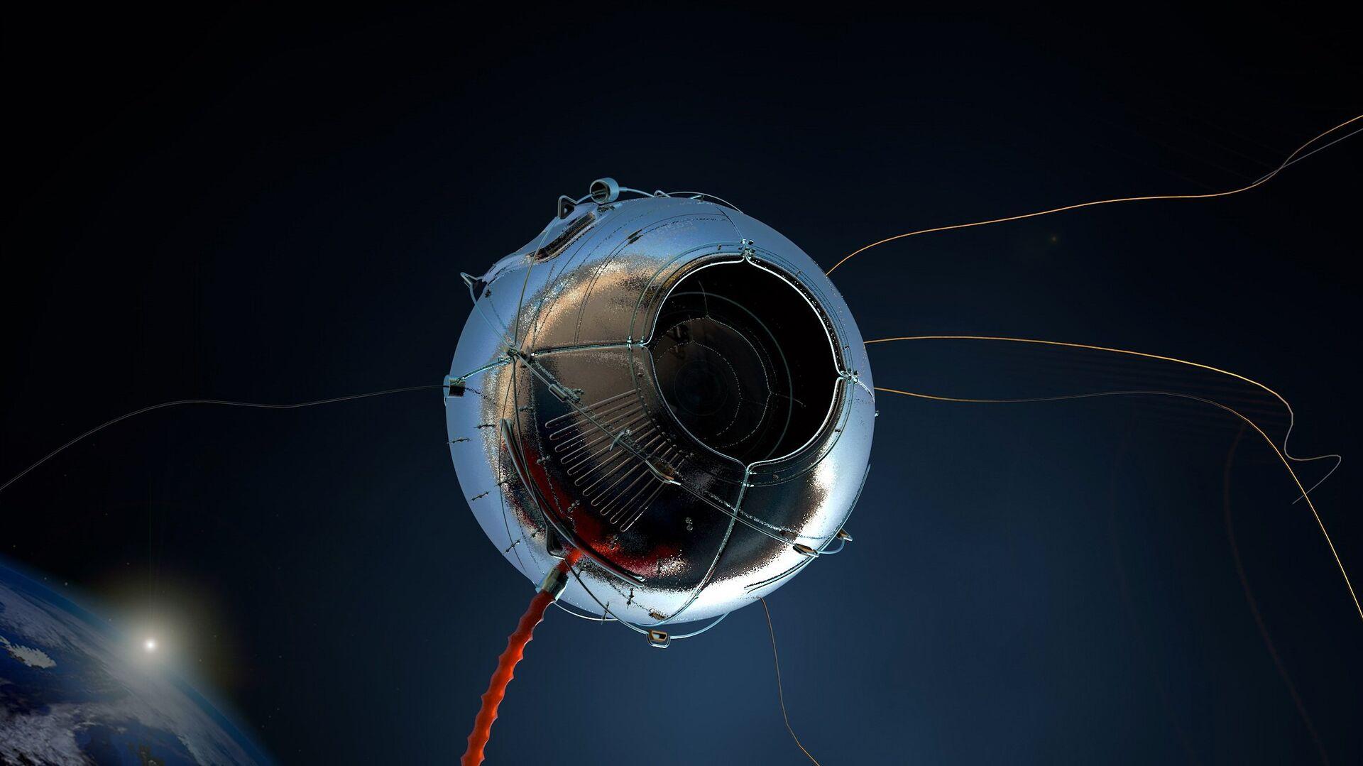 Un satélite (imagen referencial) - Sputnik Mundo, 1920, 06.06.2021