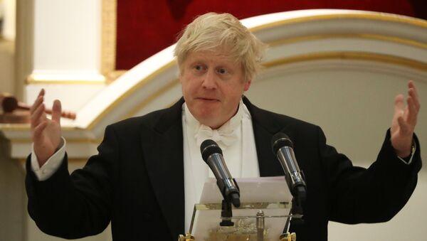 Boris Johnson, ministro de Exteriores del Reino Unido - Sputnik Mundo