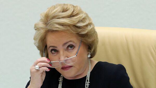 Valentina Matvienko, la presidenta del Senado ruso - Sputnik Mundo