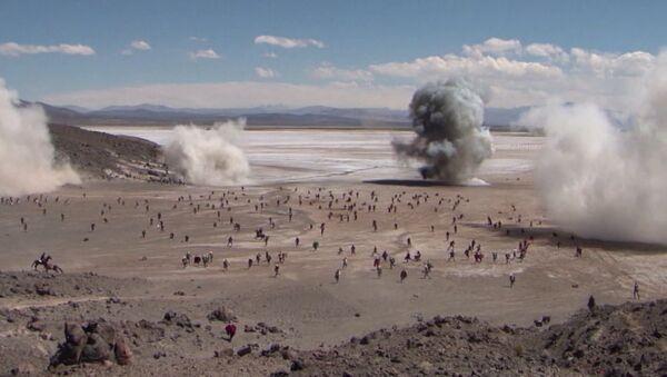 Reviven la histórica batalla entre Bolivia y Chile de la guerra del Pacífico - Sputnik Mundo