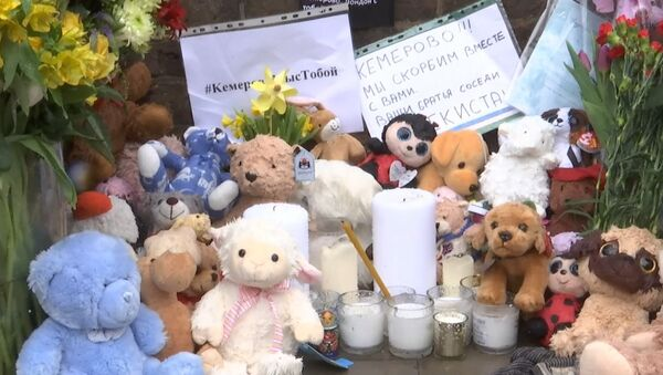 Los británicos muestran su pesar por la tragedia en Kémerovo - Sputnik Mundo