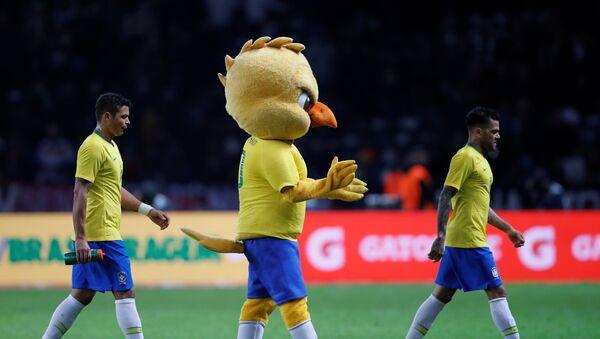Canarinho, la mascota de la selección brasileña de fútbol - Sputnik Mundo