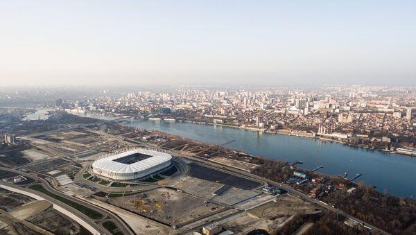 El estadio Rostov Arena en Rostov del Don, Rusia - Sputnik Mundo