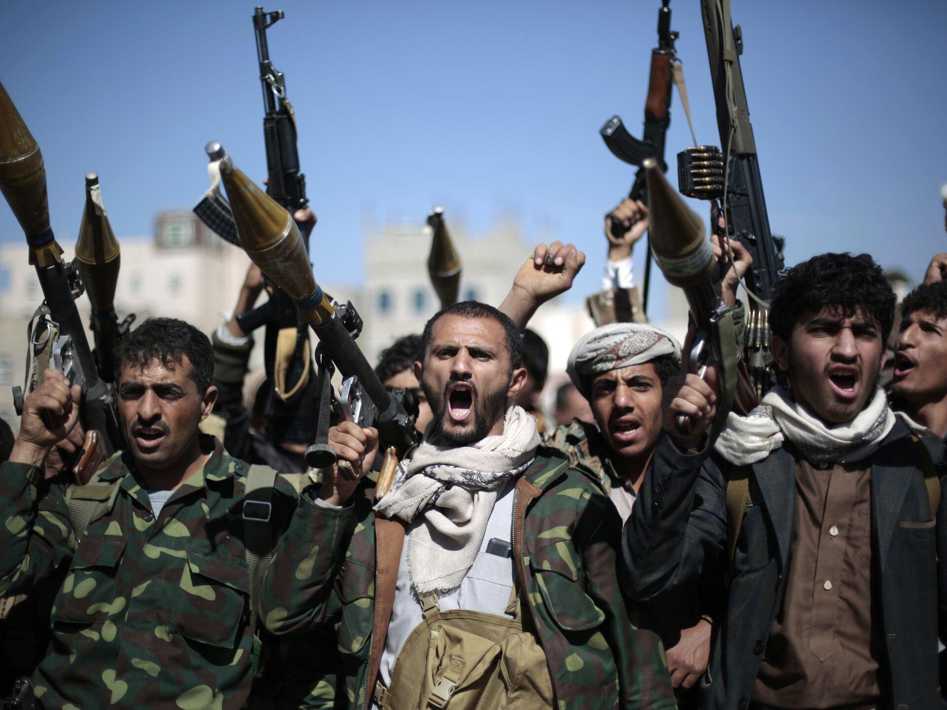 """Enviado de EEUU: apoyo de Irán a los hutíes de Yemen es """"significativo y peligroso"""" - 21.04.2021, Sputnik Mundo"""
