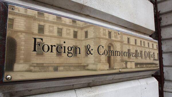 Ministerio de Exteriores del Reino Unido - Sputnik Mundo