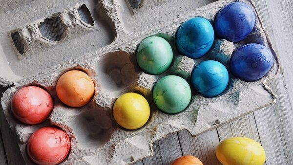 Huevos de pascuas, imagen referencial - Sputnik Mundo