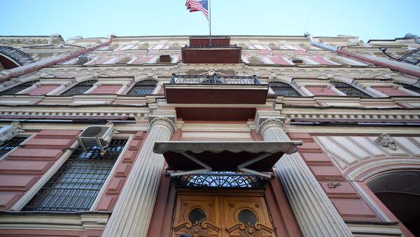 El Consulado General de EEUU en San Petersburgo - Sputnik Mundo