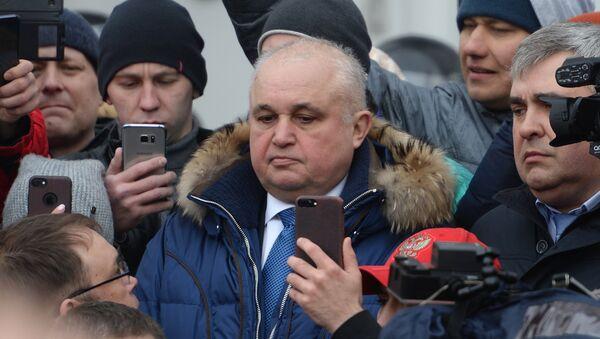 El gobernador en funciones de Kémerovo, Serguéi Tsiviliov - Sputnik Mundo
