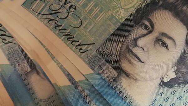 Libra esterlina, moneda de Reino Unido - Sputnik Mundo