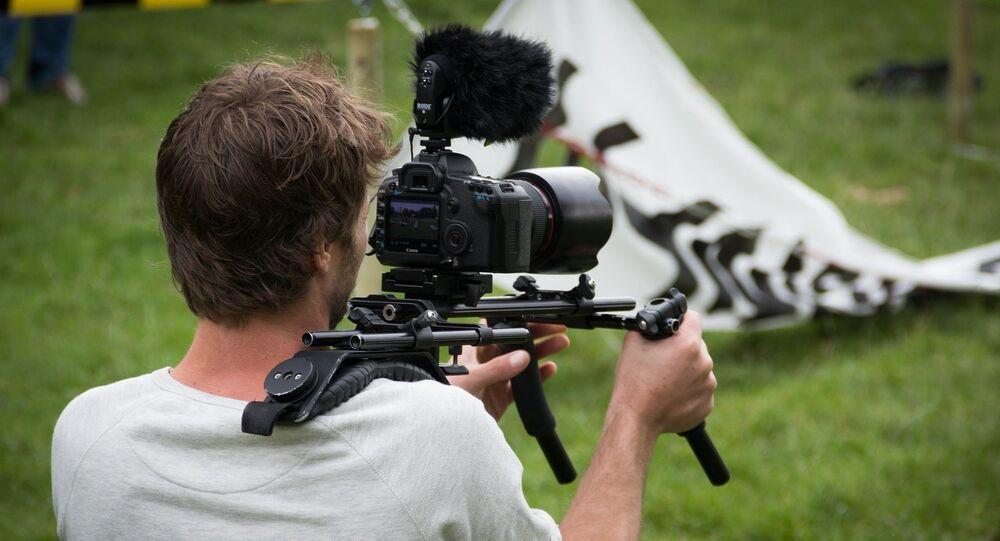 Un camarógrafo
