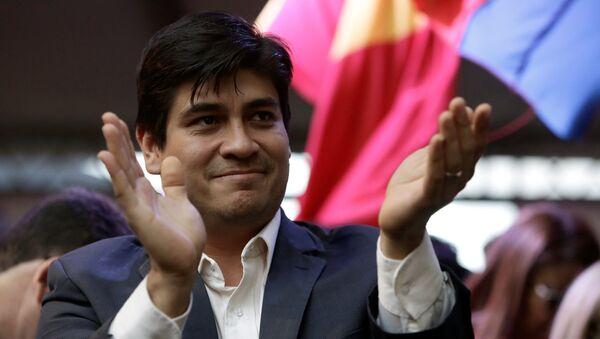 Carlos Alvarado,candidato a la presidencia de Costa Rica - Sputnik Mundo