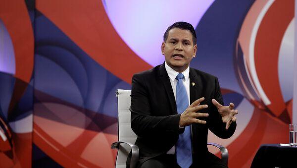 Fabricio Alvarado, candidato a la presidencia de Costa Rica - Sputnik Mundo
