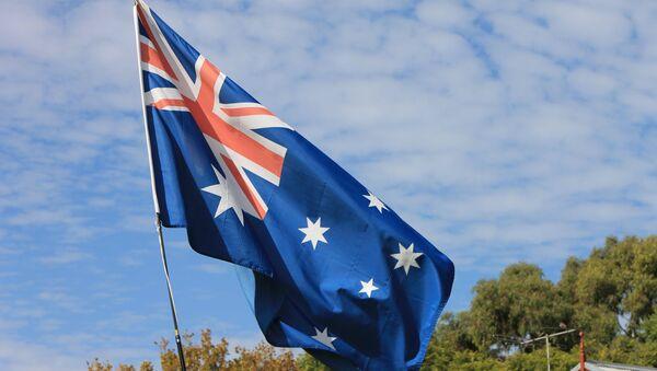 La bandera de Australia - Sputnik Mundo