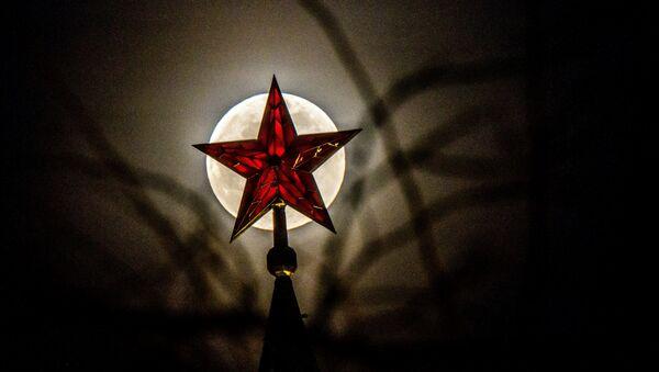 Una estrella del Kremlin de Moscú - Sputnik Mundo