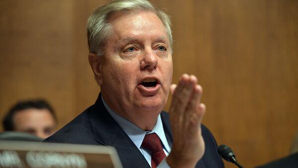Lindsey Graham, senador estadounidense - Sputnik Mundo