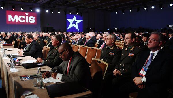 VI Conferencia de Seguridad Internacional de Moscú (archivo) - Sputnik Mundo
