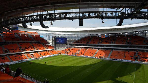 El estadio Ekaterinburg Arena en Ekaterimburgo, Rusia - Sputnik Mundo