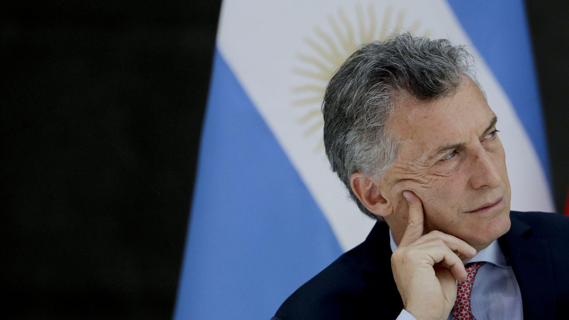 Mauricio Macri, presidente de Argentina - Sputnik Mundo, 1920, 01.06.2021