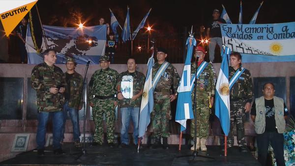 Argentina conmemora la guerra de las Malvinas (vídeo) - Sputnik Mundo